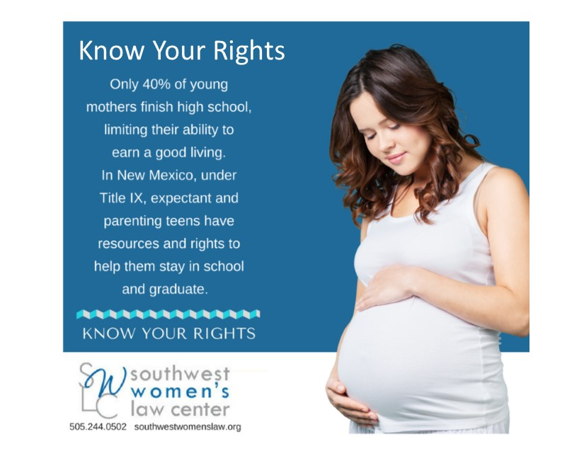 Teen Pregnancy – Know your rights!