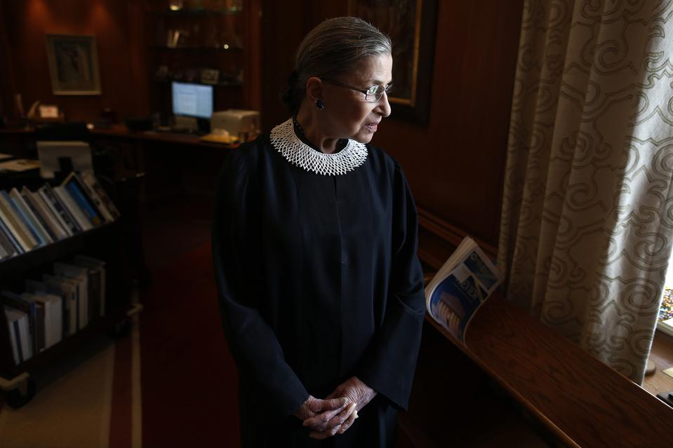 Ruth Bader Ginsburg, Photo Credit: AP